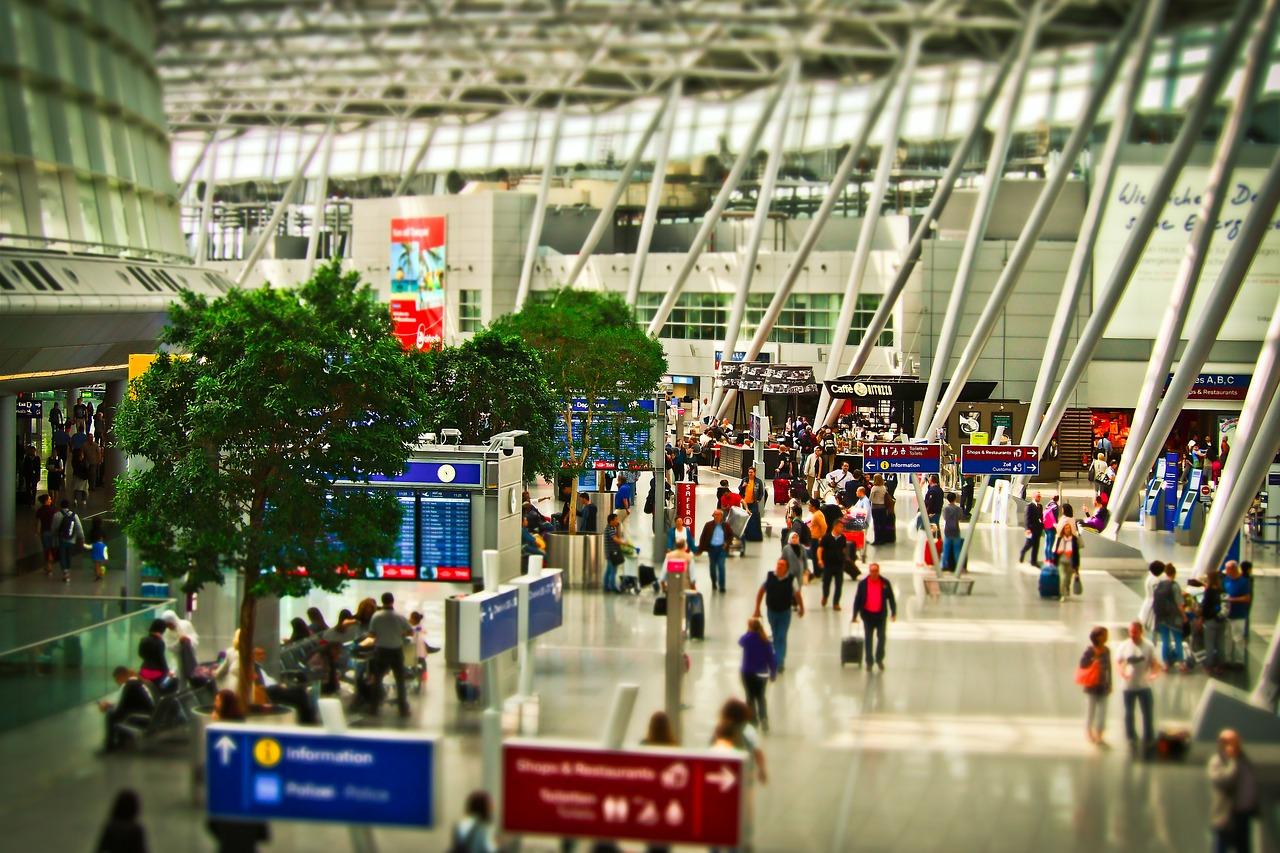 AIRDO 羽田空港 ターミナル